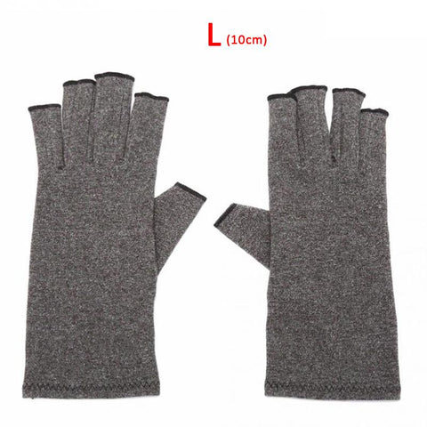 Unisex Arthritis Fingerless Gloves