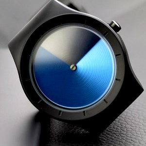 Three-Dimensional Gradient Wrist Watch