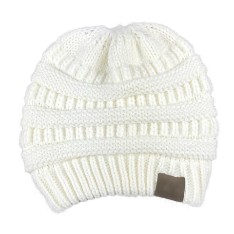 Image of 😍 Pay For 2 Get 1 Free 😍 | Knit Ponytail Beanie