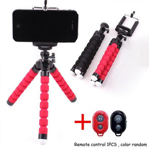 Flexible Tripod for Phone with Remote
