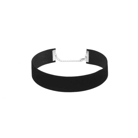 Image of Black Velvet Choker Necklace
