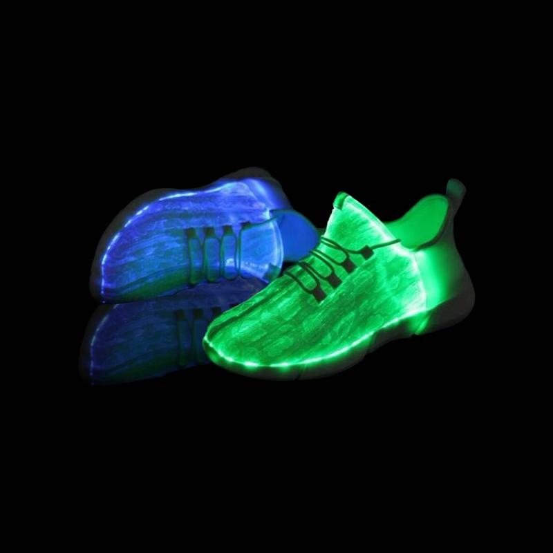 Rechargeable Glowing Sneakers