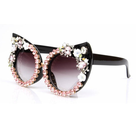 Image of floral sunglass
