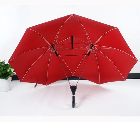 Image of double umbrella