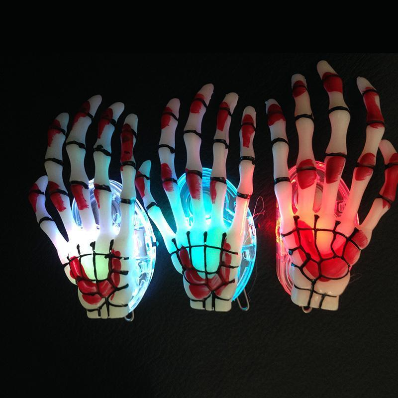 Luminous Skeleton Claws Hand Hair Clips