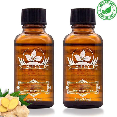 Image of lymphatic drainage ginger oil
