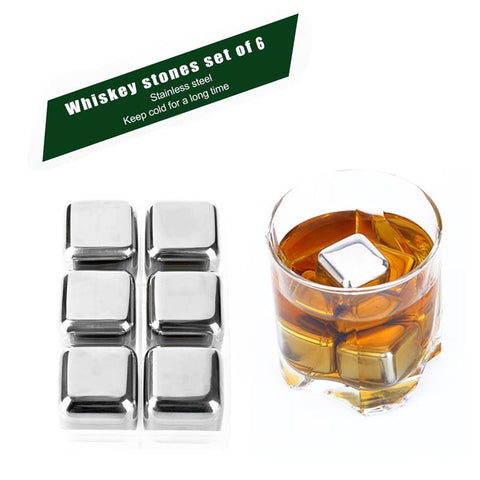 Image of Stainless Steel Whisky Stones