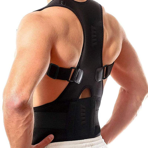 Image of Magnetic Therapy Posture Support Brace