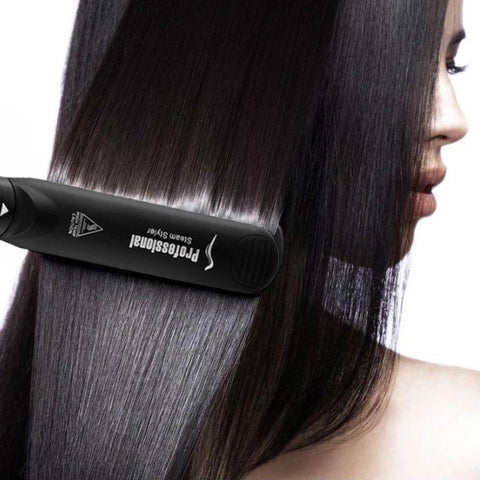 Image of Ceramic Steam Hair Straightener