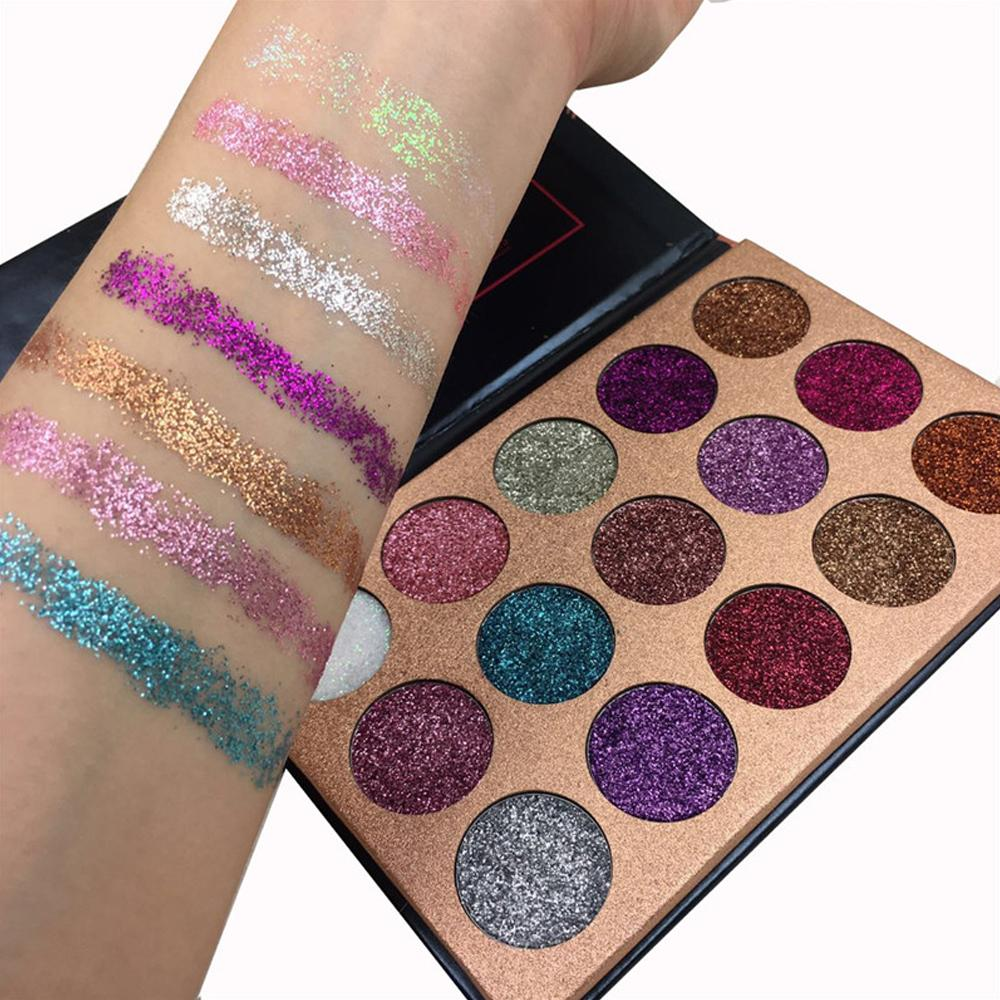 Pressed Glitter Eye Shadow Makeup