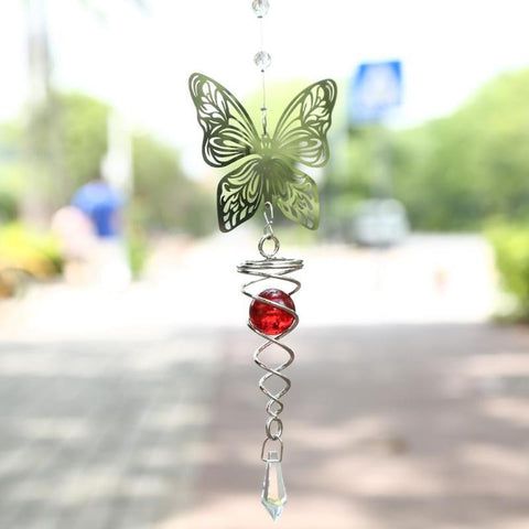 Image of 3D Crystal Foldable Wind Chime