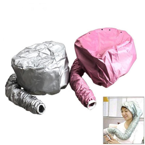 Image of Portable Hair Dryer Soft Hood Bonnet