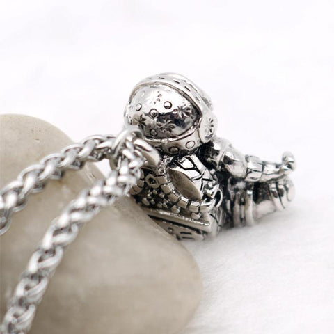Image of Astronaut Pendant Necklace