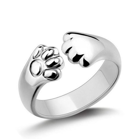 Image of Paw Ring For Women
