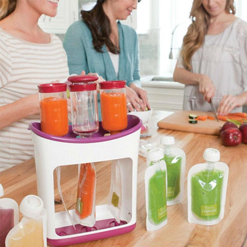 Baby Food Smoothie Dispenser