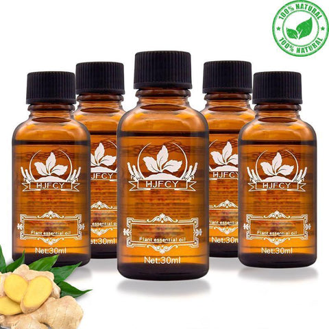 Image of organic ginger oil