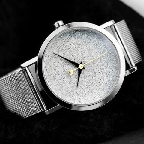 Image of silver watch