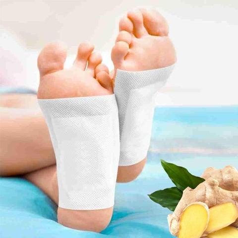 Image of 10PCS / Bag Anti-Swelling Ginger Foot Patch