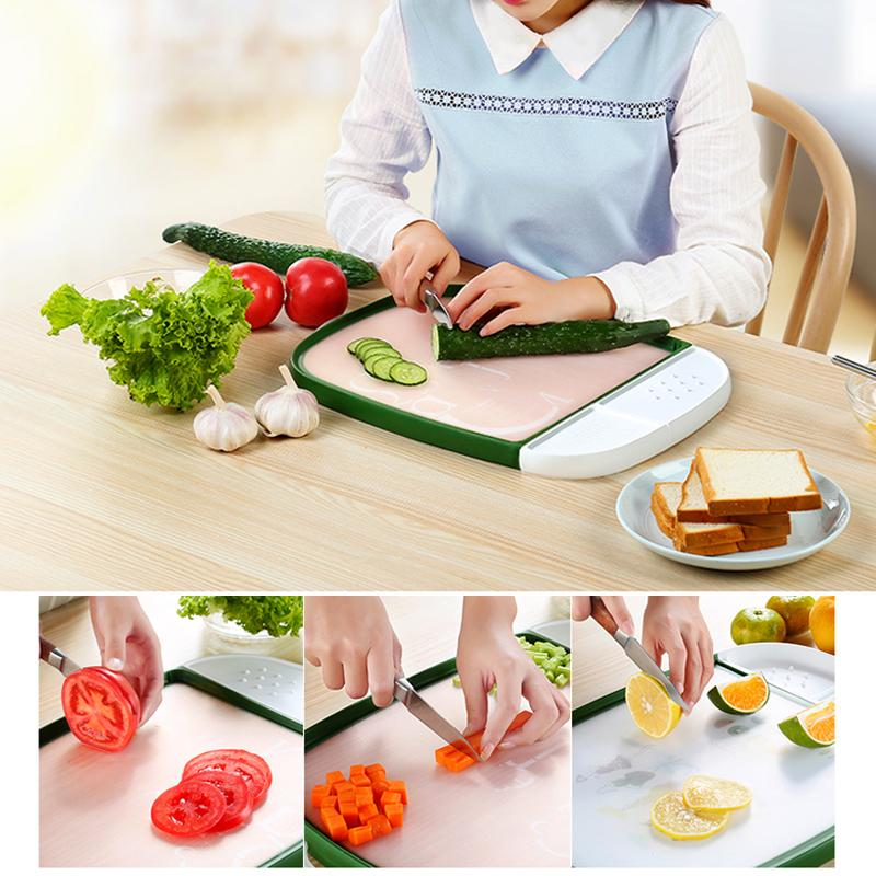 Double-Sided Antibacterial Chopping Board