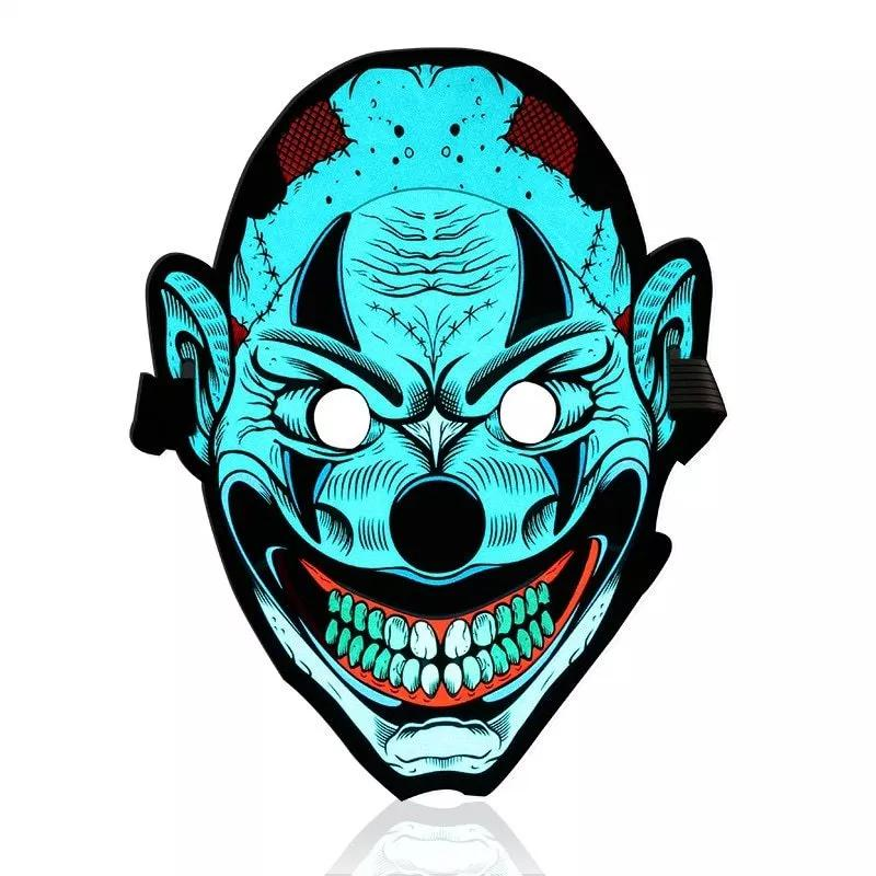 Halloween LED Voice Control Funny Mask