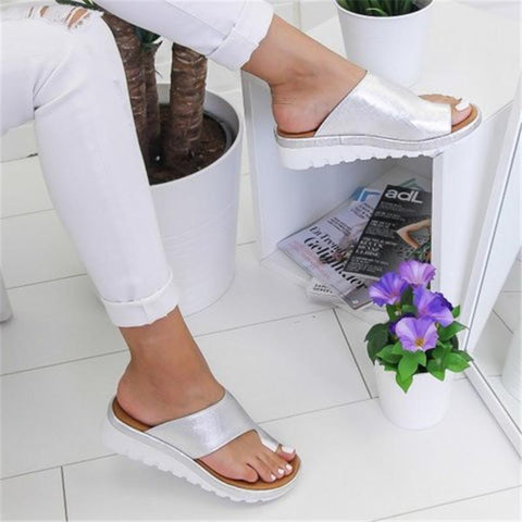 Image of bunion corrector sandals