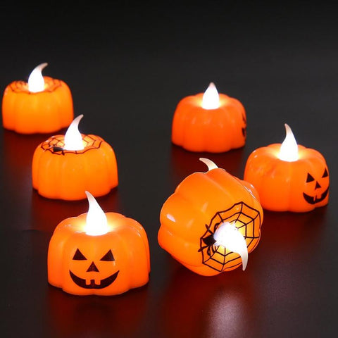 Image of Indoor Decor Halloween Candles