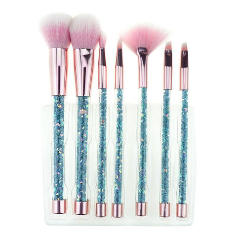 Image of makeup brush set