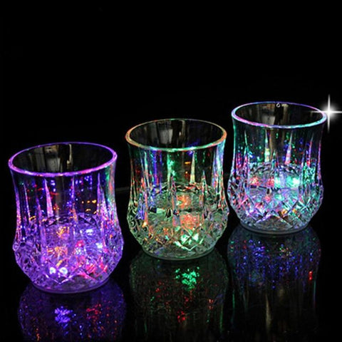 Image of Flashing LED Light Up Drinking Cup