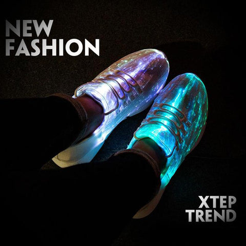 Image of led light shoes