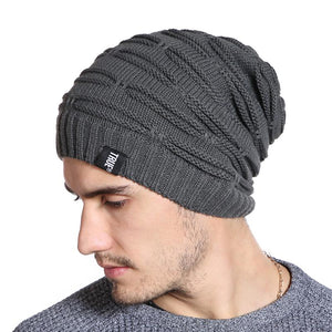 Winter Casual Slouchy Beanie For Men