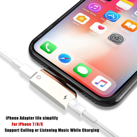 2-in-1 Splitter Adapter For iPhone