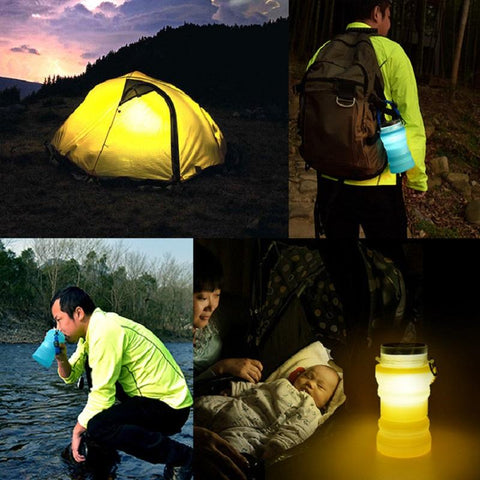 Image of Multi-Functional Camping Water Bottle