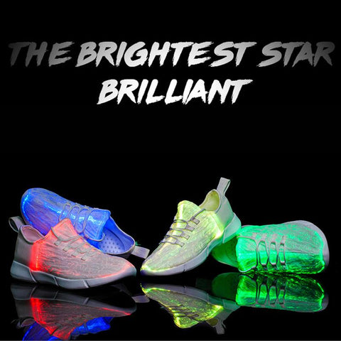 Image of flash lights shoes