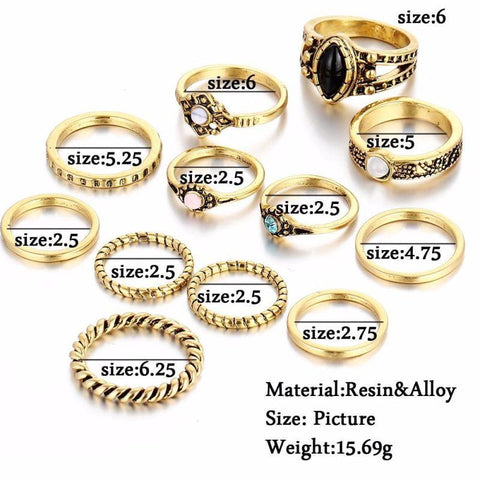Golden Rings for Women