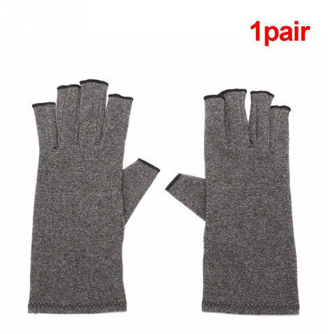 Unisex Compression Open Finger Gloves