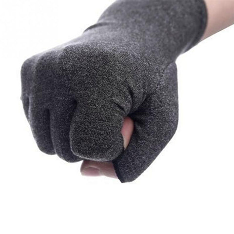 Unisex Compression Open Finger Hand Gloves