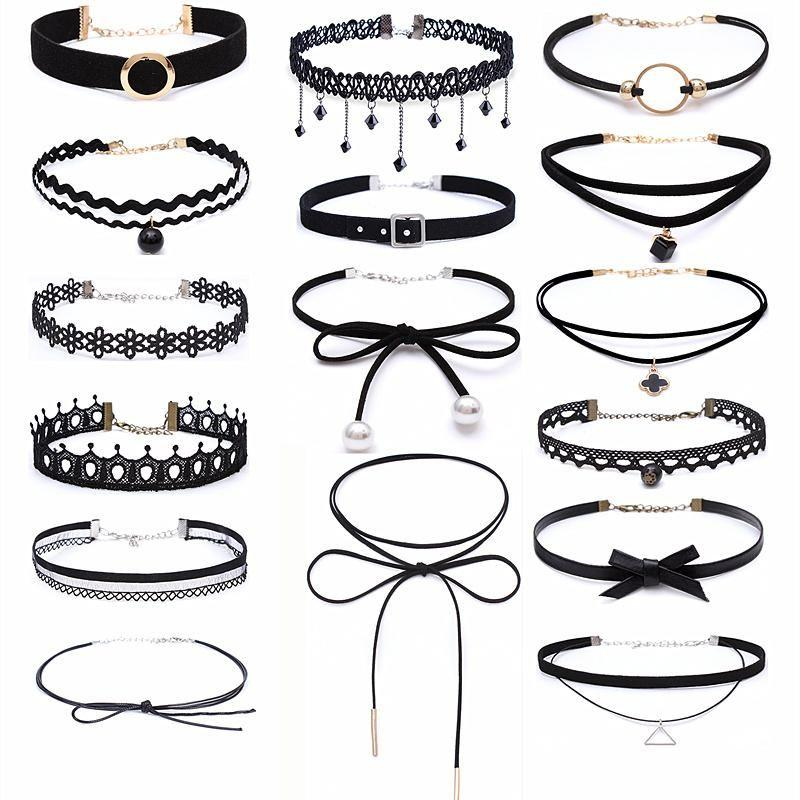 Choker Necklace the elite trends