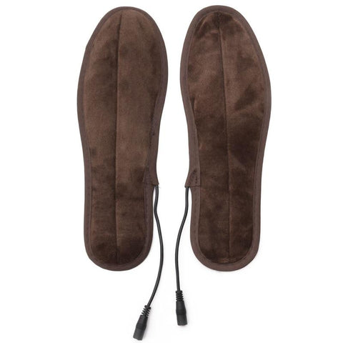 USB Electric Powered Fur Heating Insoles