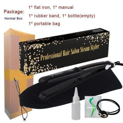 Ceramic Steam Hair Straightener