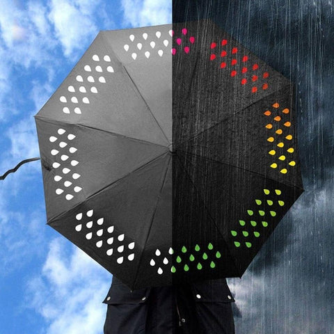Image of Color Changing Umbrella