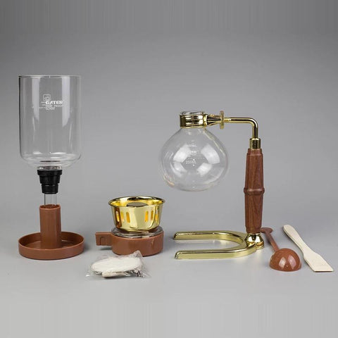 Image of siphon coffee maker