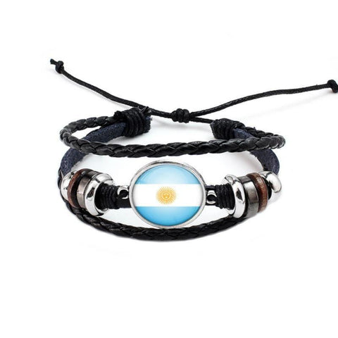 National Flags Bracelet