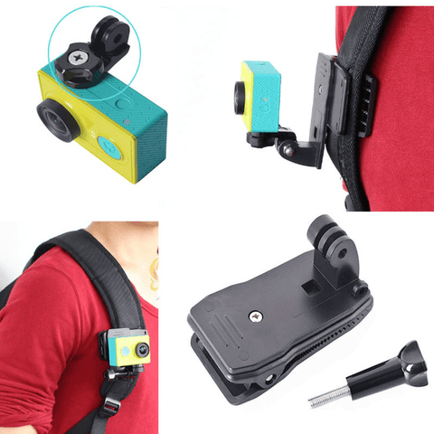 360° Camera Mount Clip Clamp