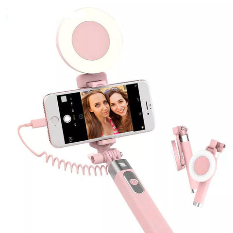 Image of 360° Rotatable Foldable Selfie Stick