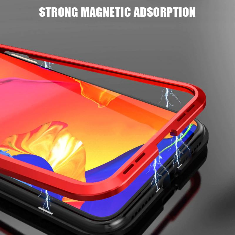360° Magnetic Adsorption iPhone Case
