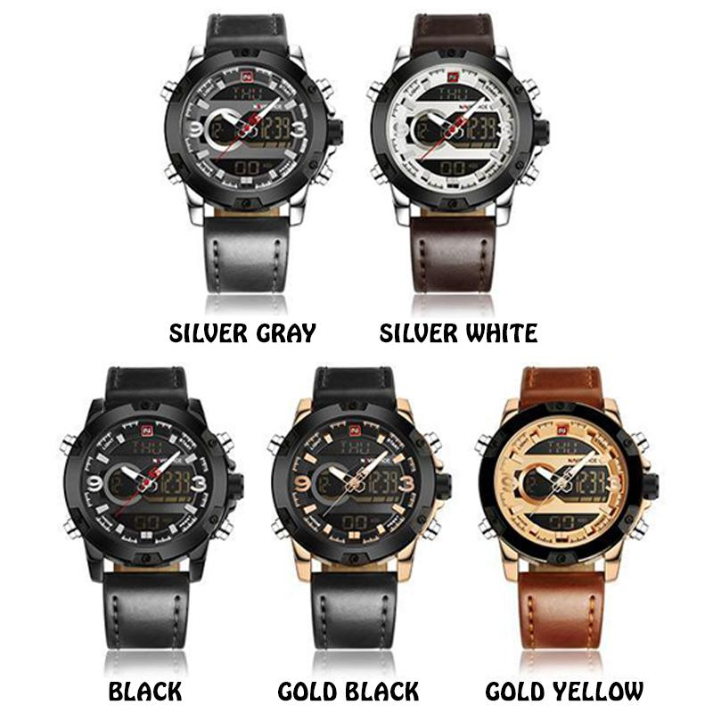 LED Display Military Wristwatch