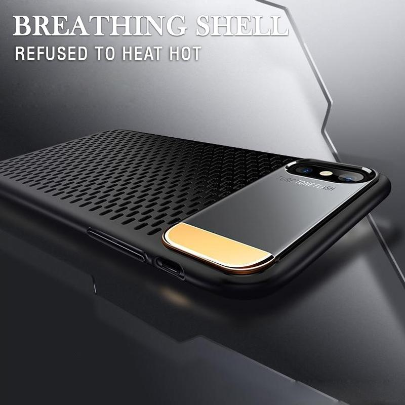 Kickstand Heat Dissipation Case For iPhone