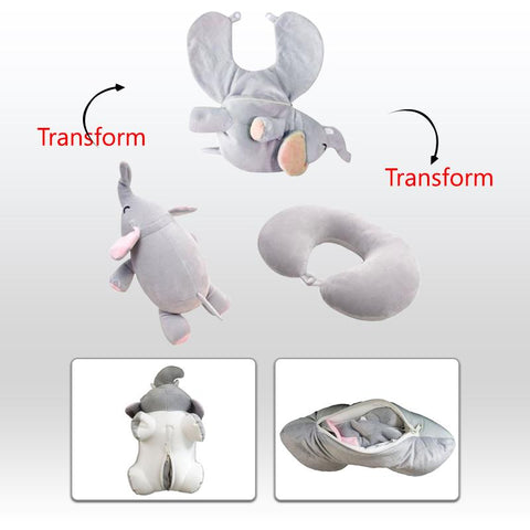 Image of Travel Pillow Stuffed Plush Toy