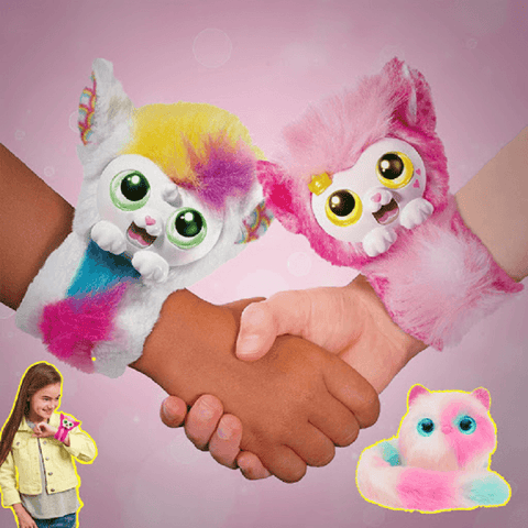 Image of Interactive Plush Toy Wristband