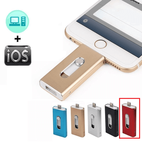 Image of flash drive for iPhone